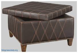 living room round leather ottoman coffee table with storage