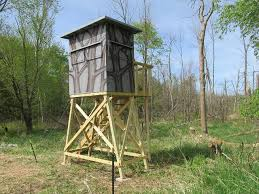 Ground Blinds For Deer Hunting Tower Deer Stand Project Ron U0027s Outdoor Blog