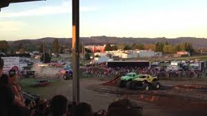 monster truck show yakima wa captain usa jumps over double trouble and monster mash youtube