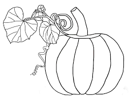 pumpkin coloring page coloring pages kids