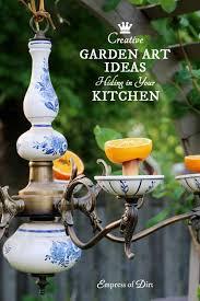Garden Art To Make - 1453 best garden art junk decor images on pinterest