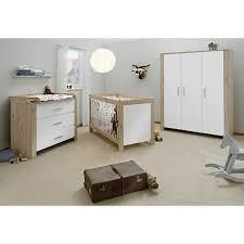 chambre bébé complete pas cher chambre bébé candeo bois naturel et blanc