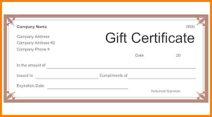 sample gift certificate cerescoffee co