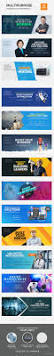 287 best banner images on pinterest corporate identity flat