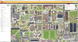 Arizona State University Campus Map by Map Content Management Powerful And Intuitive Campusbird