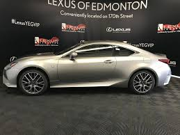lexus rc 350 f sport for sale new 2017 lexus rc 350 f sport series 2 2 door car in edmonton