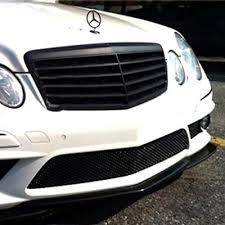 mercedes grill aliexpress com buy matt black front grille grill for