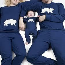 family matching pyjamas polar by pj mamma