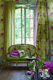 Green And Beige Curtains Inspiration Best 25 Chartreuse Decor Ideas On Pinterest Fabrics Floral