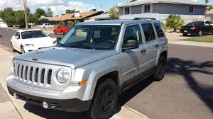silver jeep patriot black rims 2013 silver sport arizona jeep patriot forums