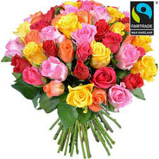 Roses Bouquet Send Fairtrade Roses Bouquets In France Aquarelle