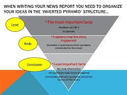 how to write news reports what is a news report a news report is