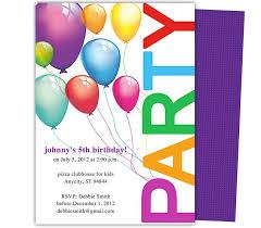 birthday invitation word template birthday party invitation
