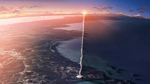 rockets smoke sunset japan anime 5 centimeters per second movies