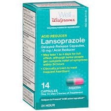 walgreens lansoprazole delayed release capsules walgreens
