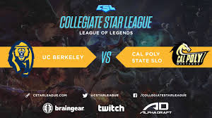 lol week 1 uc berkeley vs cal poly san luis obispo youtube