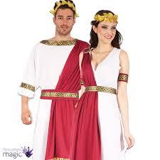 new mens ladies roman god goddess toga caesar venus fancy dress