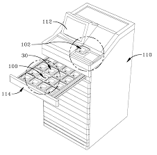 patent us6338007 system and apparatus for the storage and