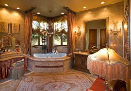 traditional master bathroom with plex marble tile floors
