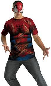 halloween spiderman costume spiderman shirt and mask men costumes kids halloween