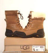 ugg adirondack ii otter winter boots s ugg australia abree us 11 brown winter boot defect 16580 ebay