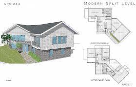 side split house plans house plan best of 4 level side split house plans 4 level side