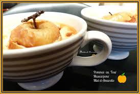 qu est ce que l amaretto en cuisine pommes au four au mascarpone miel et amaretto miechambo cuisine
