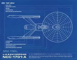 star trek uss enterprise a d deep space 9 blueprints