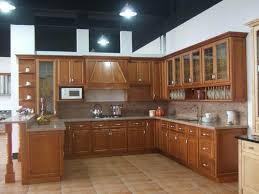 Dark Brown Cherry Wood Double Slab Door Kitchen Cupboard Doors - Slab kitchen cabinet doors