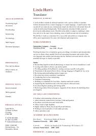 best solutions of spanish interpreter resume sample for your