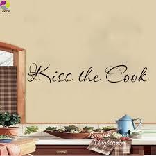 baise cuisine baiser le cuisinier cuisine quote wall sticker cuision boulangerie