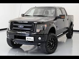 2013 ford f150 black 2013 ford f 150 fx4 with custom lift lewisvilleautoplex com used