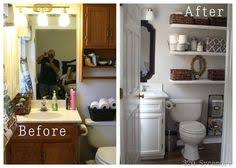 Redo Small Bathroom by Half Bath Makeovers From My Front Porch To Yours U0027s Clipboard On
