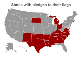 Texas Flag Pledge State Flag Pledges U2013 Portland Flag Association