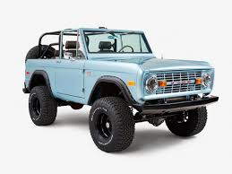old bronco jeep classic ford broncos