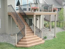 Deck Stairs Design Ideas Enchanting Deck Stairs Design Ideas Best Ideas About High Deck On