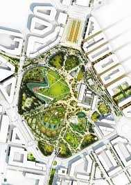 site plan design valencia parque central by 8 valencia proposals