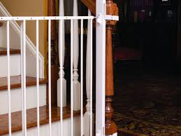 Banister Gate Adapter Stairs Design New Stair Gate Child Safety Gates For Stairs Aldi