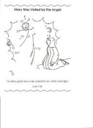 angel gabriel and mary angels angel and coloring pages
