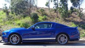 2014 ford mustang roush 2014 blue ford mustang roush rs signed by roush