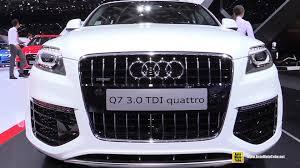audi vehicles 2015 2015 audi q7 3 0 tdi quattro exterior and interior walkaround