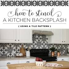 kitchen stencil ideas 210 best stenciled painted kitchens images on