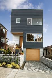 infill lot baby nursery narrow lot house design wood narrow lot modern