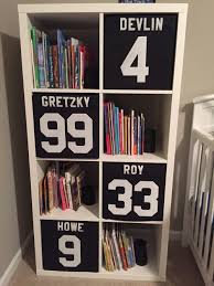 hockey nursery diy