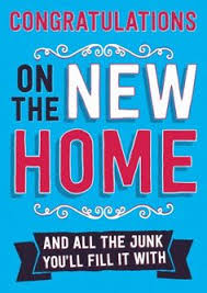 congrats on new card congrats on your new home card new house card recycled paper