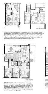 Two Story Condo Floor Plans Mid Century Modern And 1970s Era Ottawa Mcmc Mid Century Modern