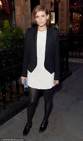 kate mara scores a style win at lady dior party in london daily