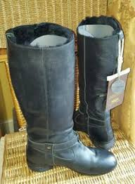 womens cowboy boots ebay uk vintage river island womens genuine leather buckle boots size