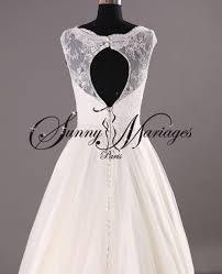 robe de mariã e dentelle dos robe de mariee dentelle dos ouvert sur mesure mariage en