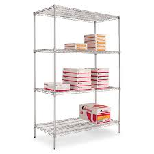 Wire Rack Shelf Amazon Com Alera Sw504824sr Industrial Heavy Duty Wire Shelving